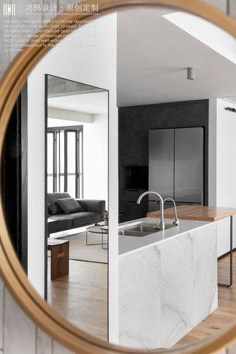 富裕型100平米三室两厅工业风风格厨房装修案例