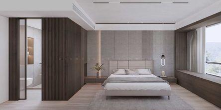 20万以上140平米三室两厅现代简约风格卧室设计图