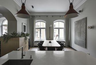 富裕型140平米一室一厅美式风格餐厅图片