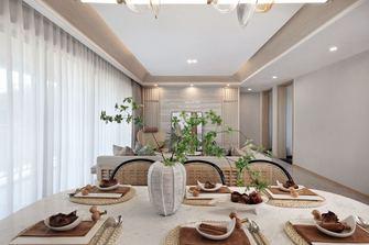 140平米三室一厅田园风格客厅设计图