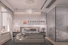 经济型110平米三室两厅法式风格卧室设计图