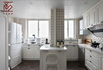 10-15万90平米三室一厅美式风格厨房图片大全