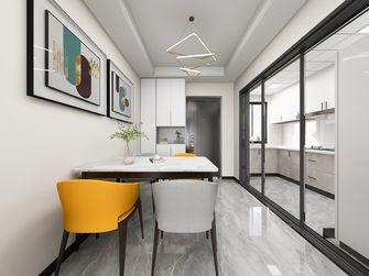 100平米三室一厅轻奢风格餐厅欣赏图