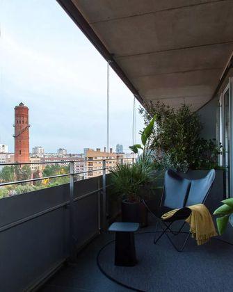 20万以上90平米欧式风格阳台效果图