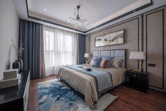 富裕型120平米三室两厅中式风格卧室图