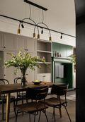 经济型110平米现代简约风格餐厅装修效果图
