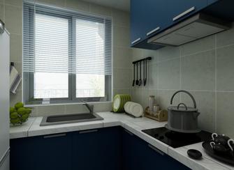 富裕型100平米三室四厅地中海风格厨房欣赏图