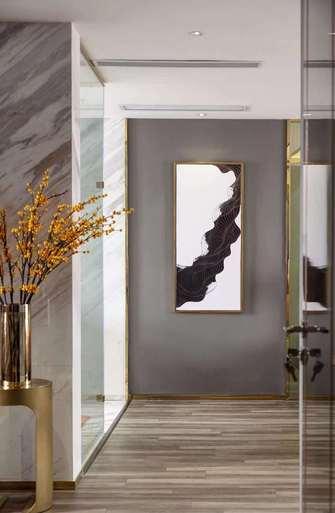 富裕型120平米三室两厅轻奢风格玄关装修图片大全
