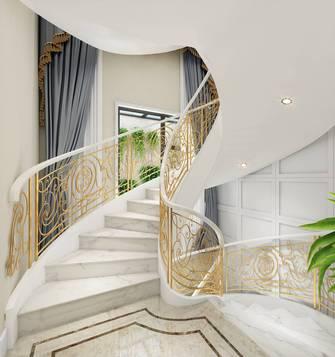 140平米复式法式风格楼梯间效果图