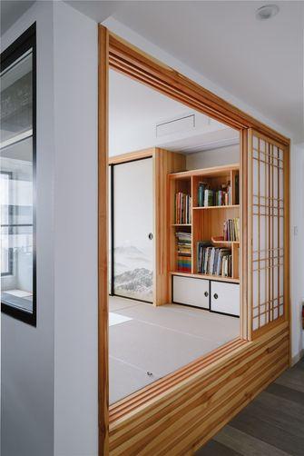 5-10万100平米三室两厅日式风格书房装修案例