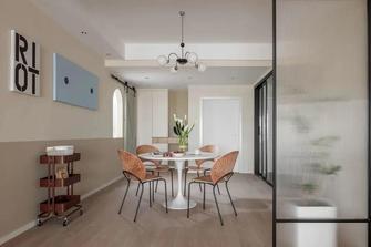 豪华型120平米三室两厅北欧风格餐厅装修图片大全