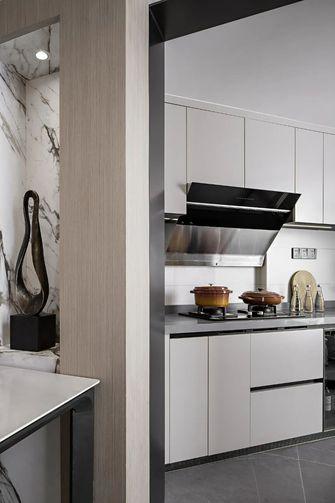 15-20万100平米三室三厅现代简约风格厨房图