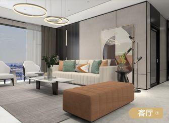 140平米三室两厅法式风格客厅图片