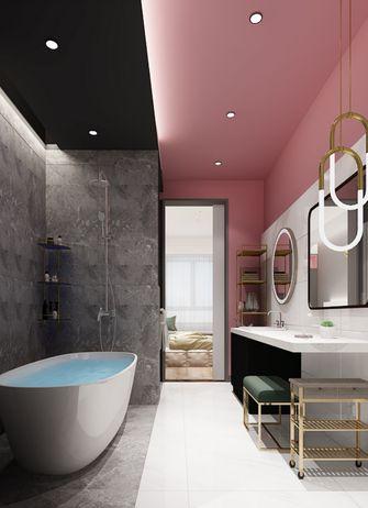 80平米一居室轻奢风格卫生间装修案例