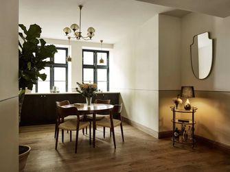 富裕型60平米公寓田园风格餐厅图片