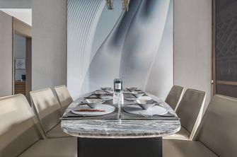 10-15万90平米三室两厅轻奢风格餐厅欣赏图