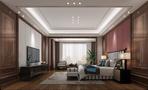 豪华型140平米复式中式风格卧室图片