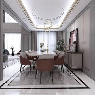 140平米别墅轻奢风格餐厅设计图