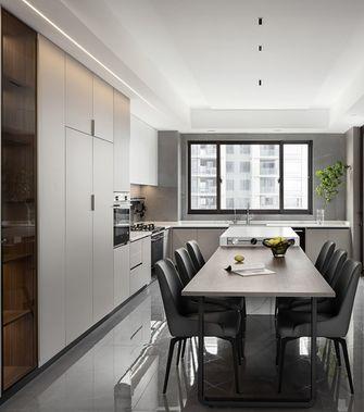 20万以上140平米三室一厅现代简约风格餐厅图片