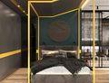 70平米一室一厅工业风风格卧室装修案例