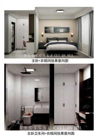 140平米复式轻奢风格卧室图片