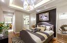 120平米三港式风格卧室图片