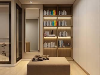 经济型30平米以下超小户型日式风格书房图