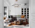 经济型140平米混搭风格客厅装修图片大全