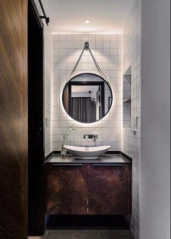 富裕型140平米四室一厅工业风风格卫生间效果图