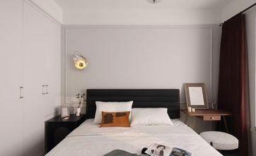 富裕型90平米三室两厅美式风格卧室装修图片大全