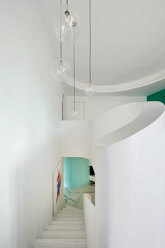 110平米三混搭风格楼梯间图