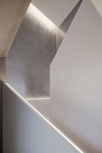 富裕型140平米别墅现代简约风格楼梯间效果图