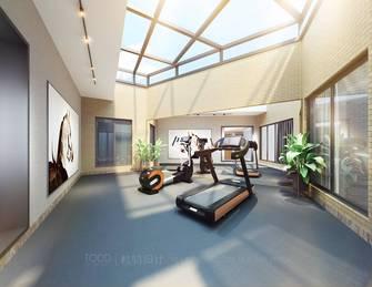 140平米别墅轻奢风格健身房装修效果图