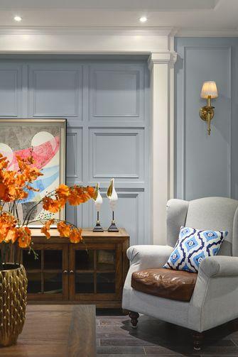 四美式风格客厅装修效果图