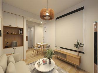 富裕型70平米日式风格客厅图