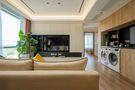 豪华型90平米三室三厅日式风格客厅图