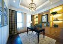 15-20万60平米一室一厅美式风格书房欣赏图