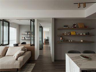 富裕型70平米三室两厅现代简约风格走廊装修效果图