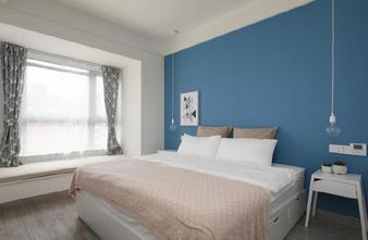 5-10万90平米三室两厅北欧风格卧室效果图