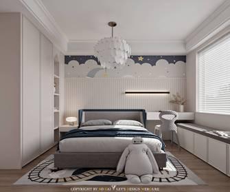 110平米三室两厅法式风格青少年房图