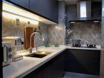 20万以上50平米工业风风格厨房装修效果图