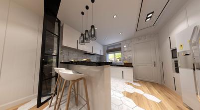 140平米别墅北欧风格厨房装修图片大全