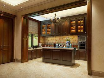 豪华型140平米别墅美式风格厨房图片大全