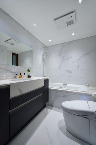 豪华型90平米现代简约风格卫生间图片