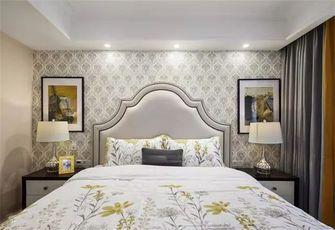 经济型90平米三室两厅美式风格卧室欣赏图