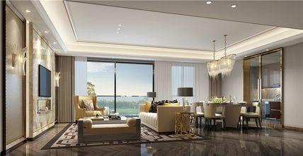 100平米三室两厅公装风格客厅设计图