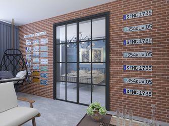 富裕型60平米公寓工业风风格阳台设计图