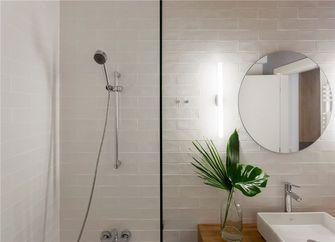 富裕型80平米日式风格卫生间装修图片大全