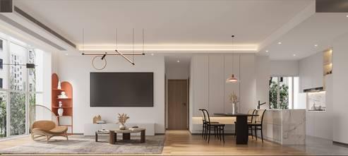 90平米日式风格客厅图片大全
