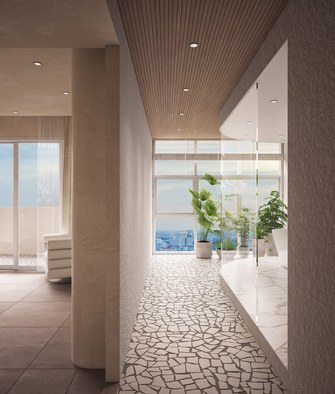 20万以上90平米一居室日式风格玄关欣赏图
